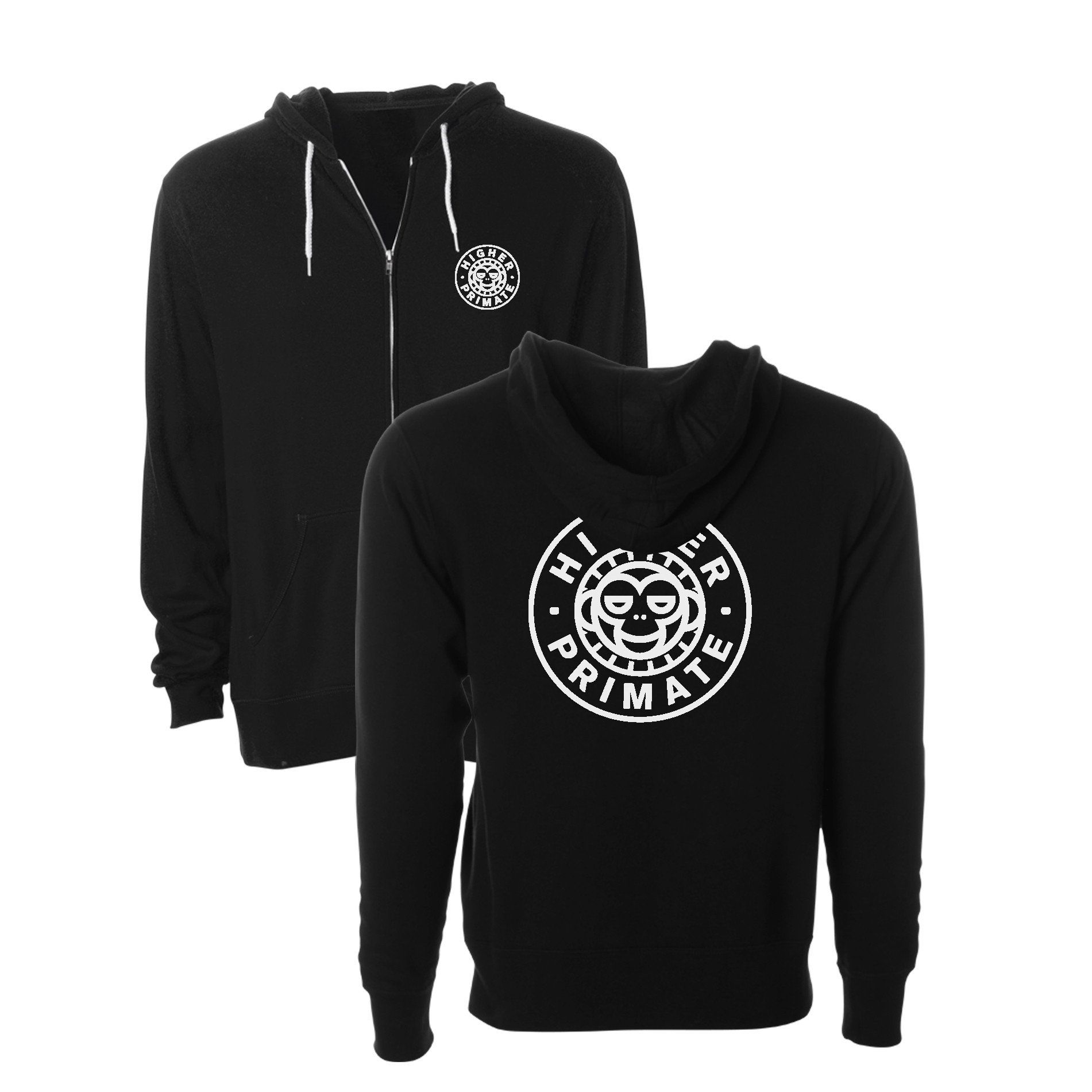 Cirlce monkey zip up hood gear pinterest hooded sweatshirts