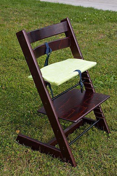Diy Stokke Tripp Trapp Chair Cushion Tutorial As Much As