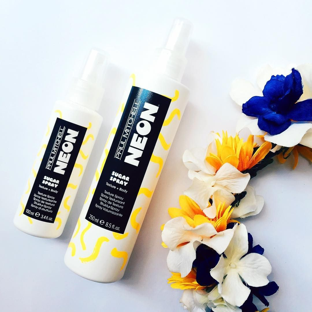 Neon Sugar spray for the sweetest smelling locks! (With