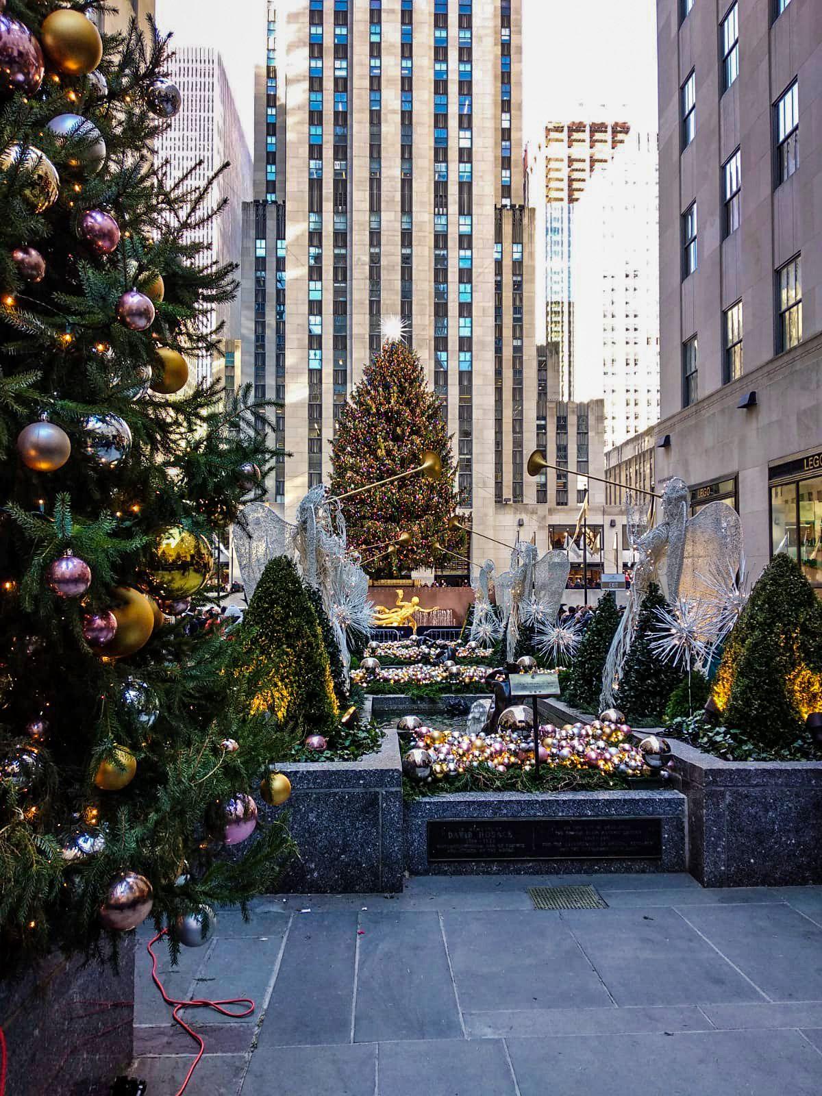 Rockefeller Center, Ruta andando por Manhattan