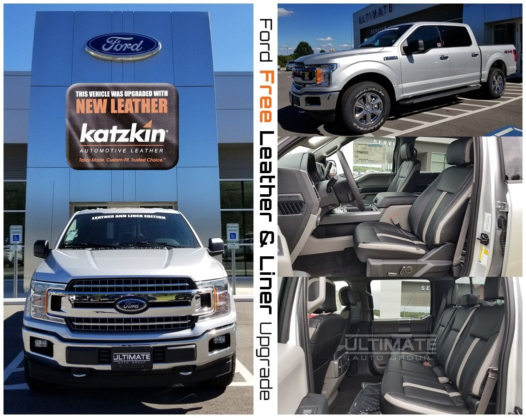 Ford F150 Leather and Liner Sale Free Leather & Bed