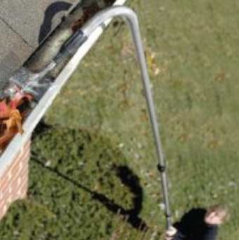 Gutter Cleaning With Water Hose Http
