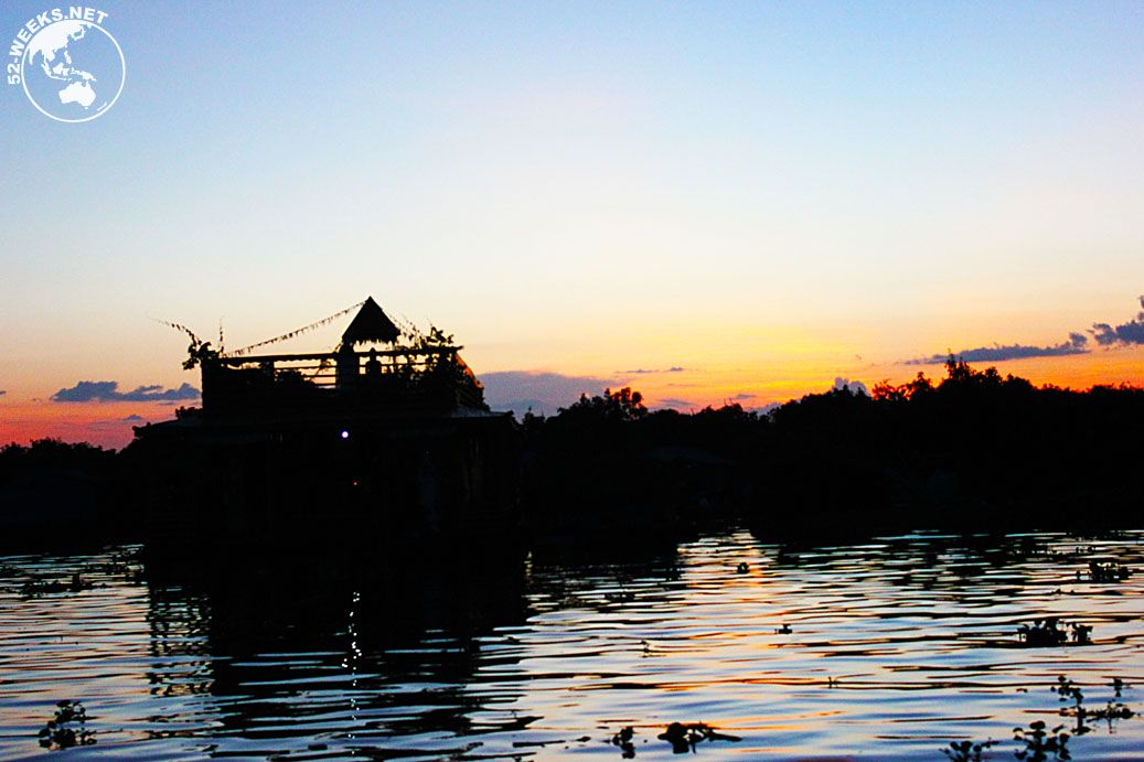 Floating village outside Siem Reap, Cambodia
