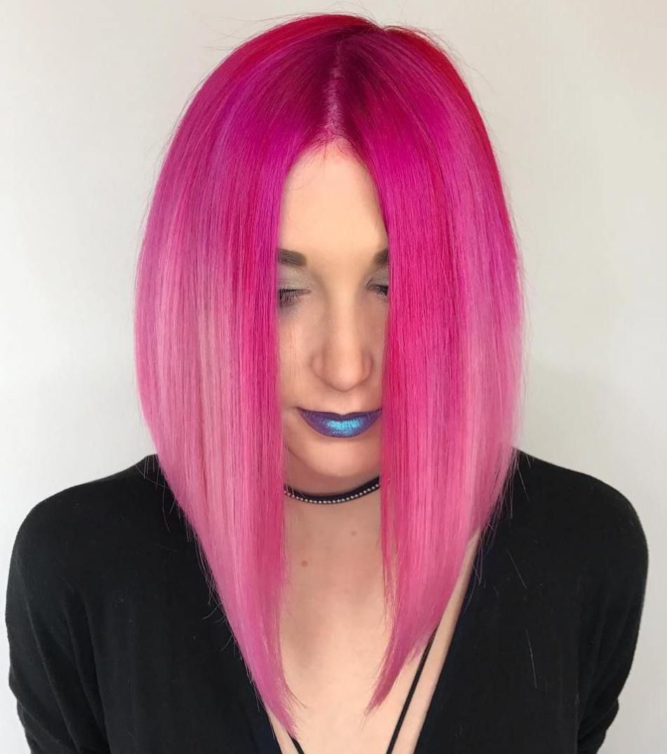 cool pastel hair colors in every shade of rainbow ombre bob