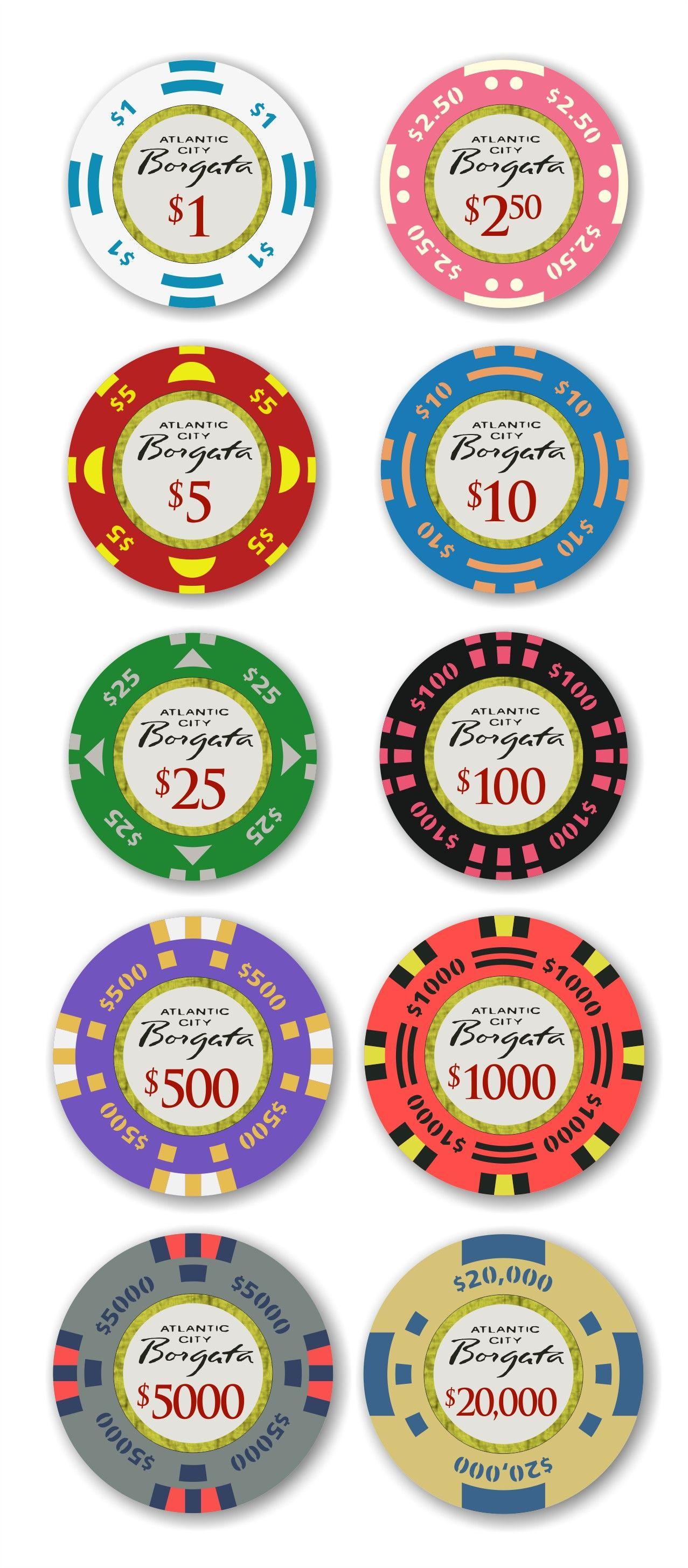 Borgata Casino Atlantic City Chips Poker Chips Poker Casino