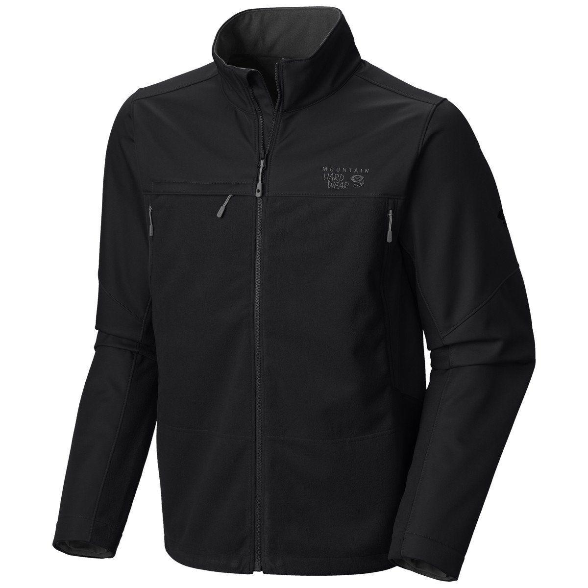 Mountain Hardwear Men's Black Mountain Tech II Jacket