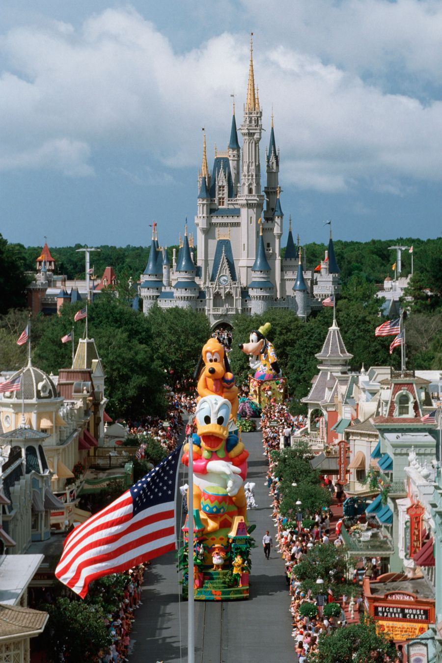Disney 20 years ago. I remember this parade! I have photos