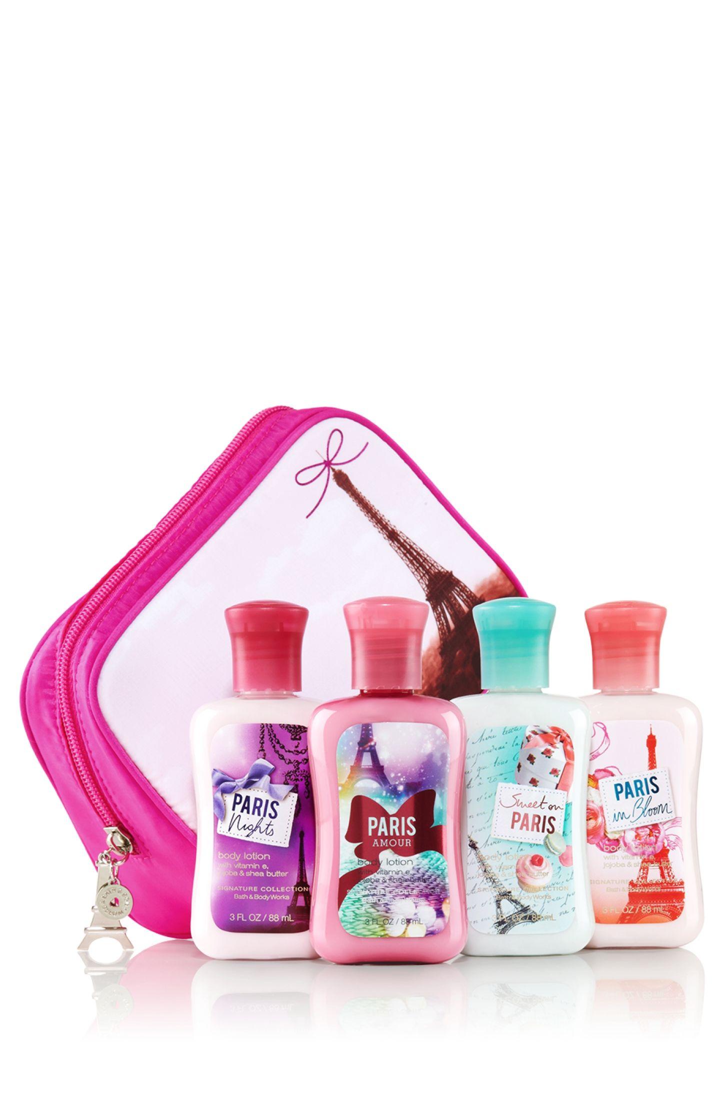 Paris Amour Bonjour Paris! Cosmetic Bag - Bath & Body Works   - Bath & Body Works