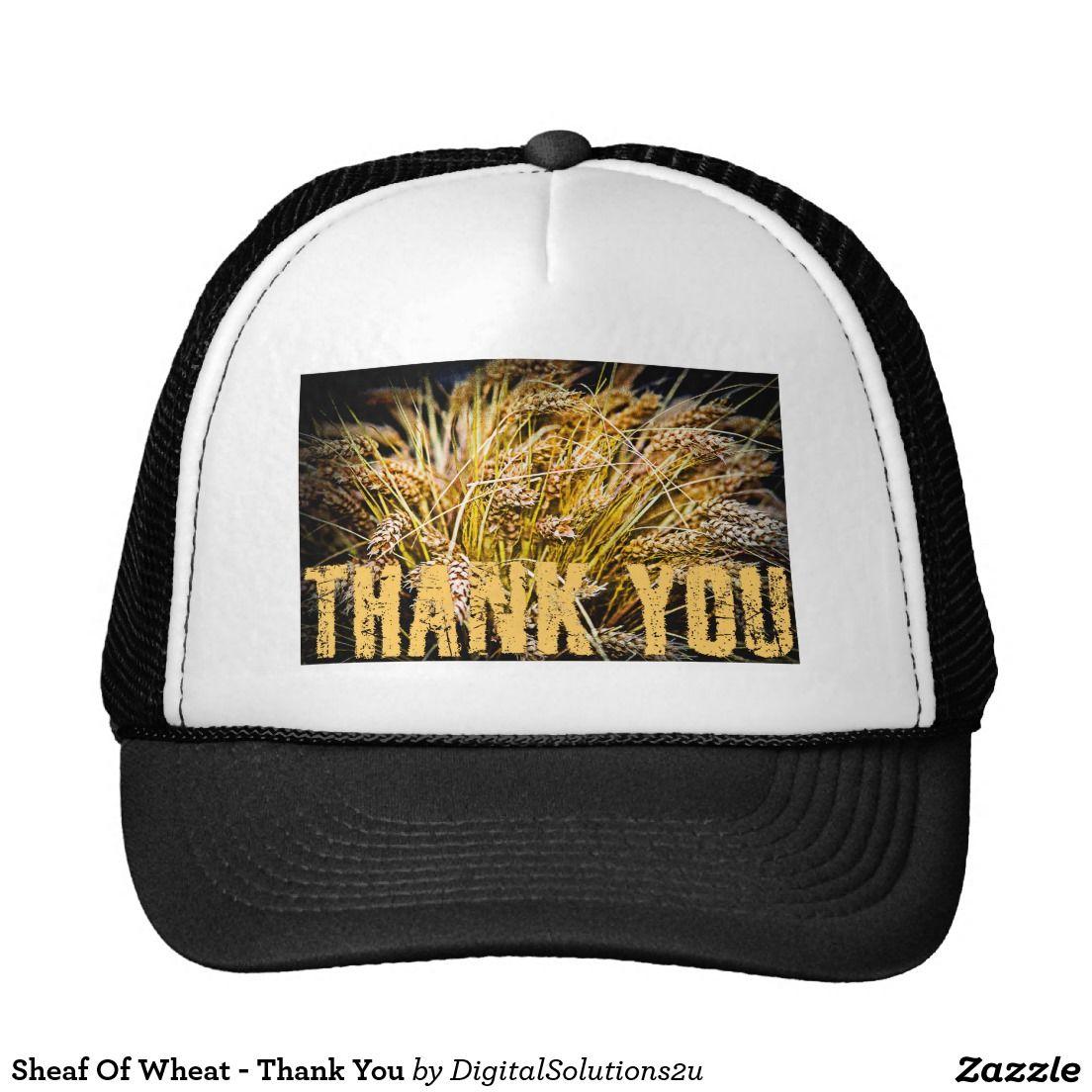 Sheaf Of Wheat - Thank You Trucker Hat