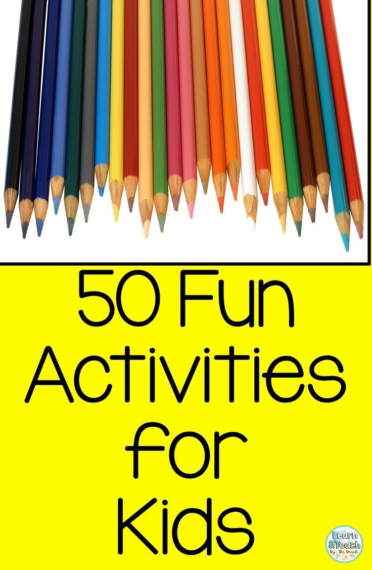Photo of Fun Activities for Kids