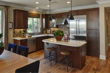 Kitchen Cabinets In Phoenix PCS Laguna Brandy With ORB Pulls.    Contemporary   Kitchen Cabinets