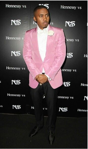 Nas Pink Suit   Pinkieluv   Pink suit, Fashion, Corporate ...