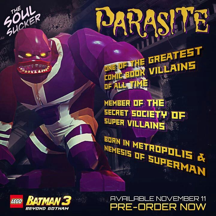LEGO Batman 3 : Parasite   Malachi   Pinterest   Lego batman ...