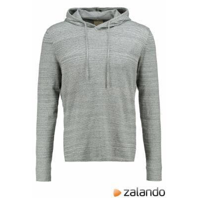 Selected Homme SHEDDIE Hoodie light grey melange #sweater #selectedhomme #offduty #men #covetme
