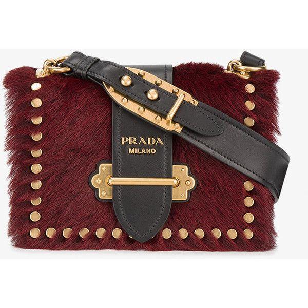 Prada pony fur Cahier shoulder bag ( 2 4a8d2e8670b7b