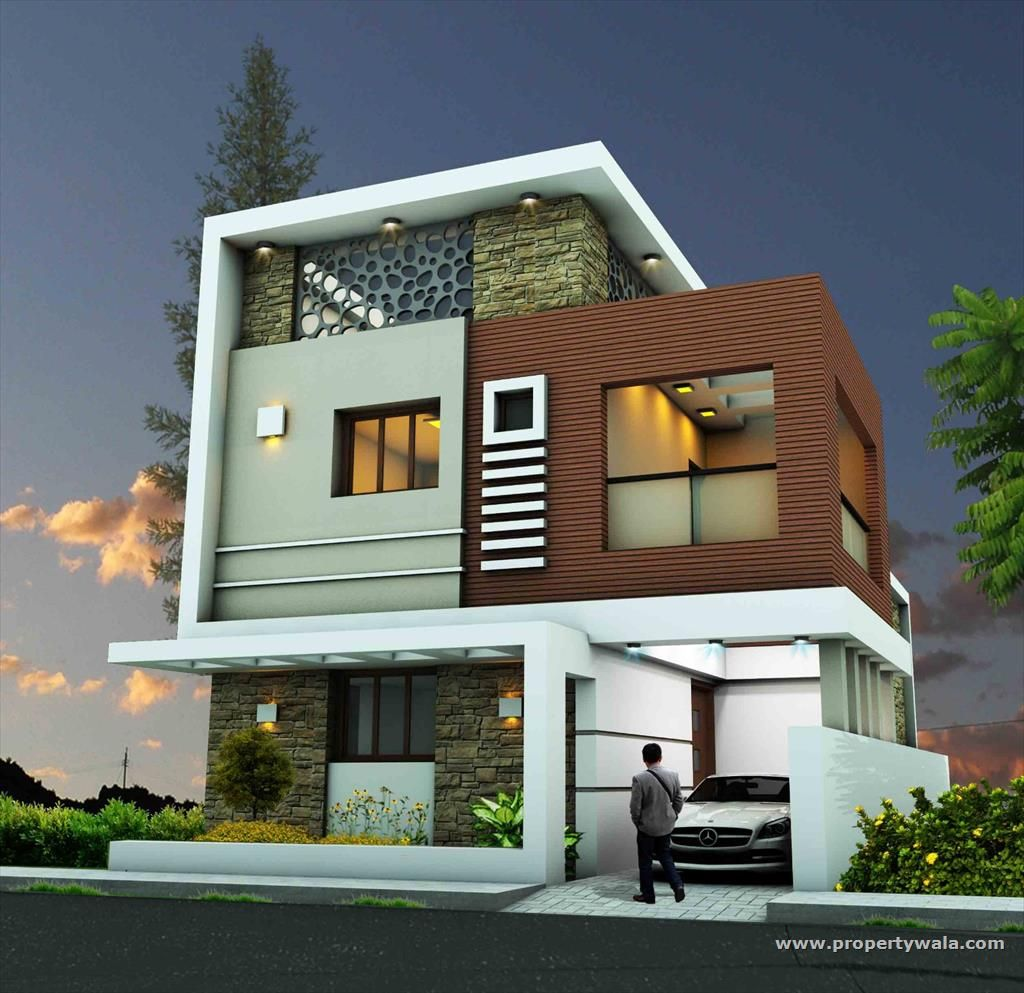 Apartment View: Duplex House Design, House Front Design