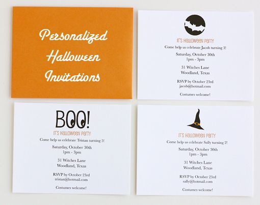 free printable halloween birthday party invitations birthdays