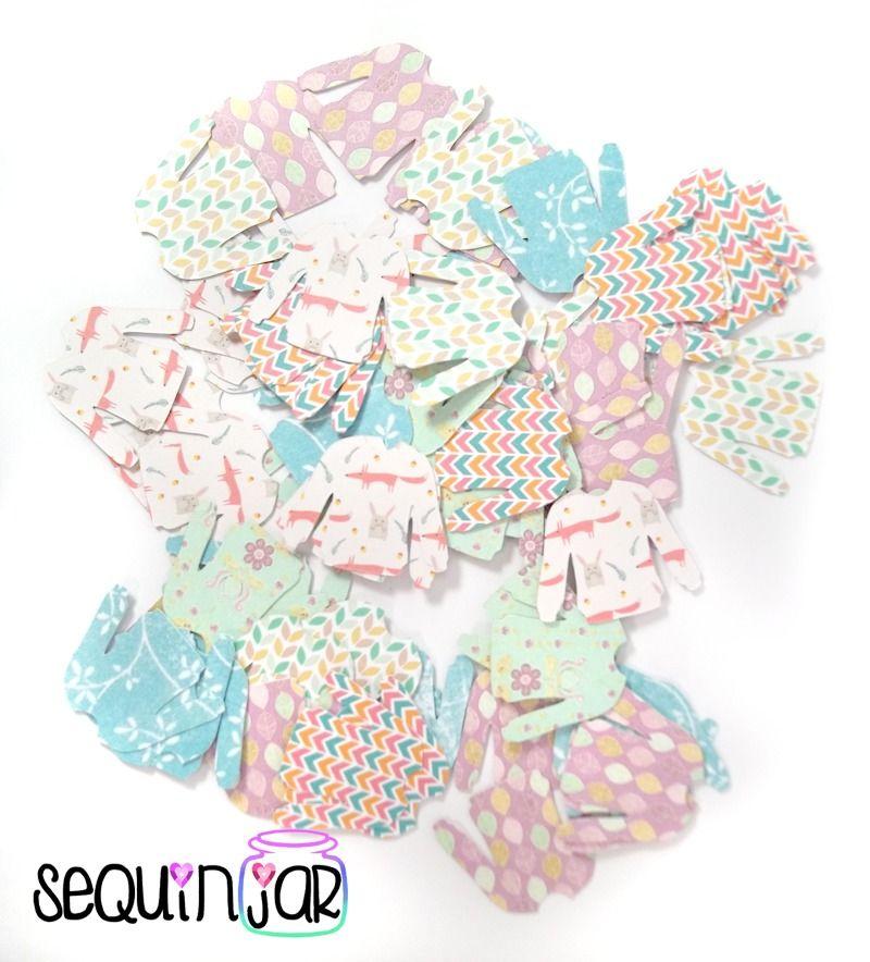 Jumper pattern table party decoration scrapbook craft card confetti shape uk
