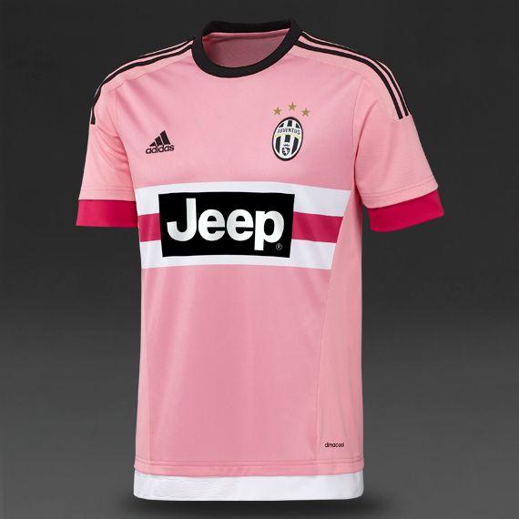 fc798e6b adidas Juventus 15/16 Away Shirt - Pink/Bright Pink/Black/White ...