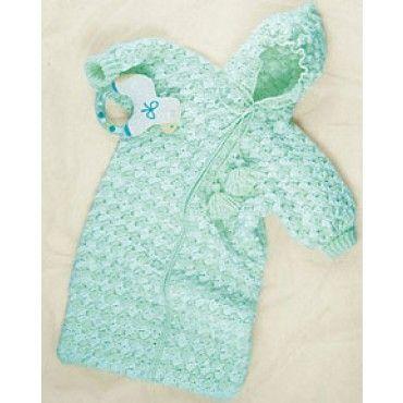 BABY BUNTING BAG PATTERN - FREE PATTERNS   knitting   Pinterest