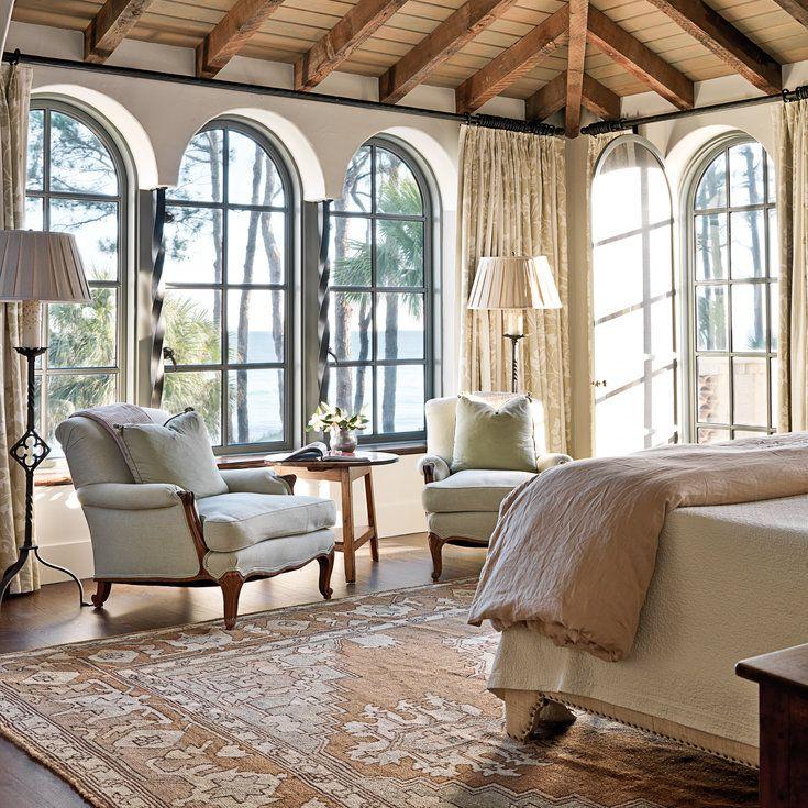 Soothing Master Bedroom - Mediterranean-Style Houses with Ocean Views - Coastal…