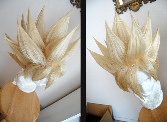 Goku Cosplay Styled Wig From Dragon Ball By Nobodiescwigs On Etsy 145 00 Perucas Cosplay Carnaval