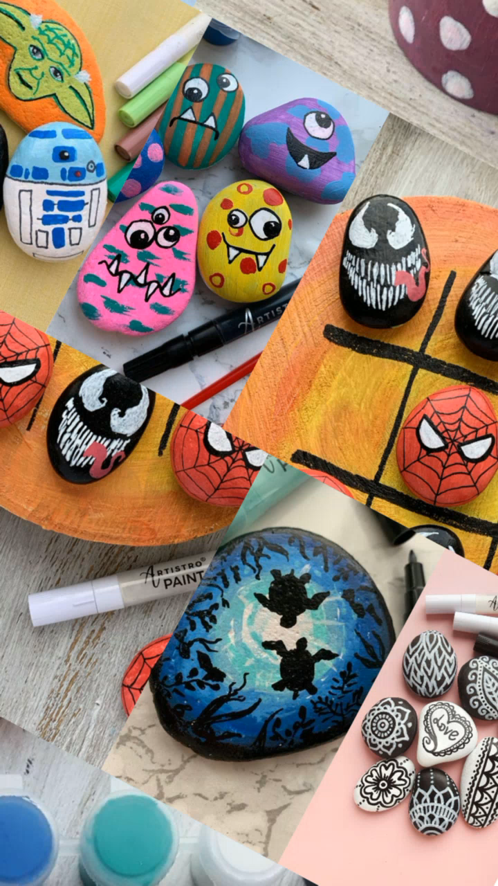 Photo of Simple Rock Painting Ideas for Beginners