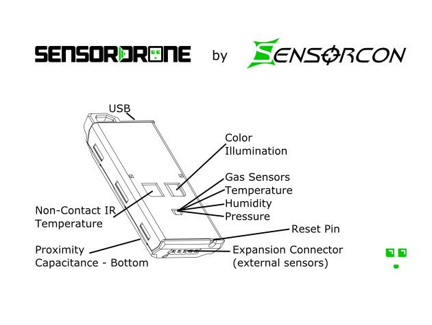 sensordrone bluetooth sensor  measure your world with 11 sensors in one