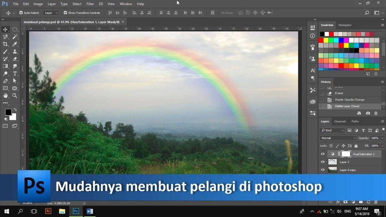 620 Koleksi Gambar Edit Foto Pelangi HD