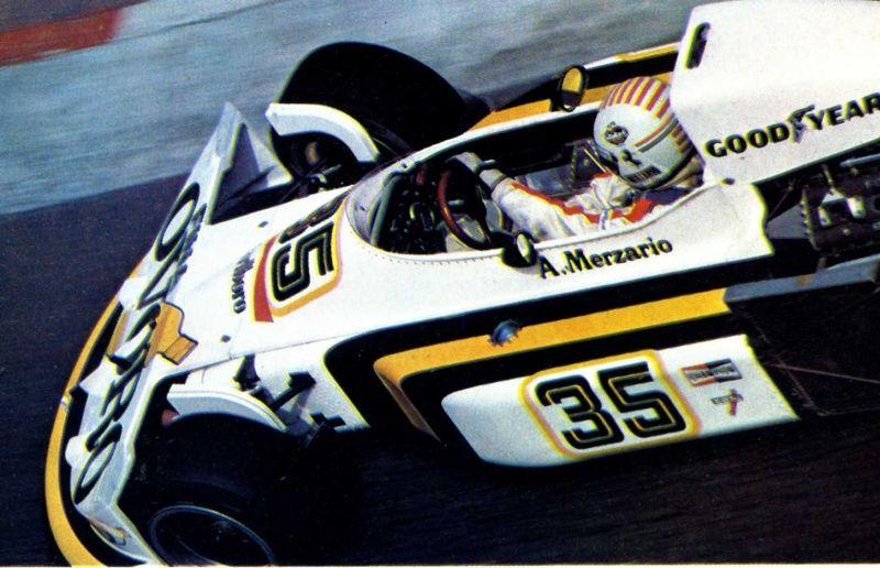 Arturo Merzario, Ovoro MarchFord 761, 1976 Classic