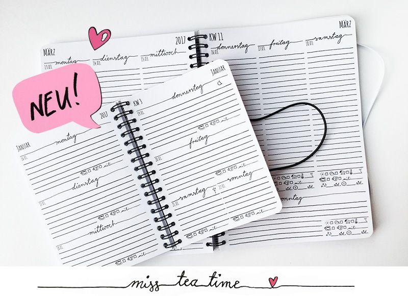 Mein Persönlicher Kalender Kalendarium Miss Teatime Notizbuch - k chenkalender 2015 selbst gestalten