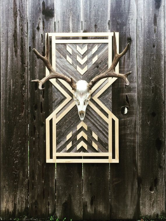 Items similar to Reclaimed Wood Wall Art on Etsy