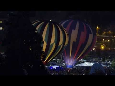 Balloons Over Bend Photographs and Time-Lapse from Cascade Center for Photography
