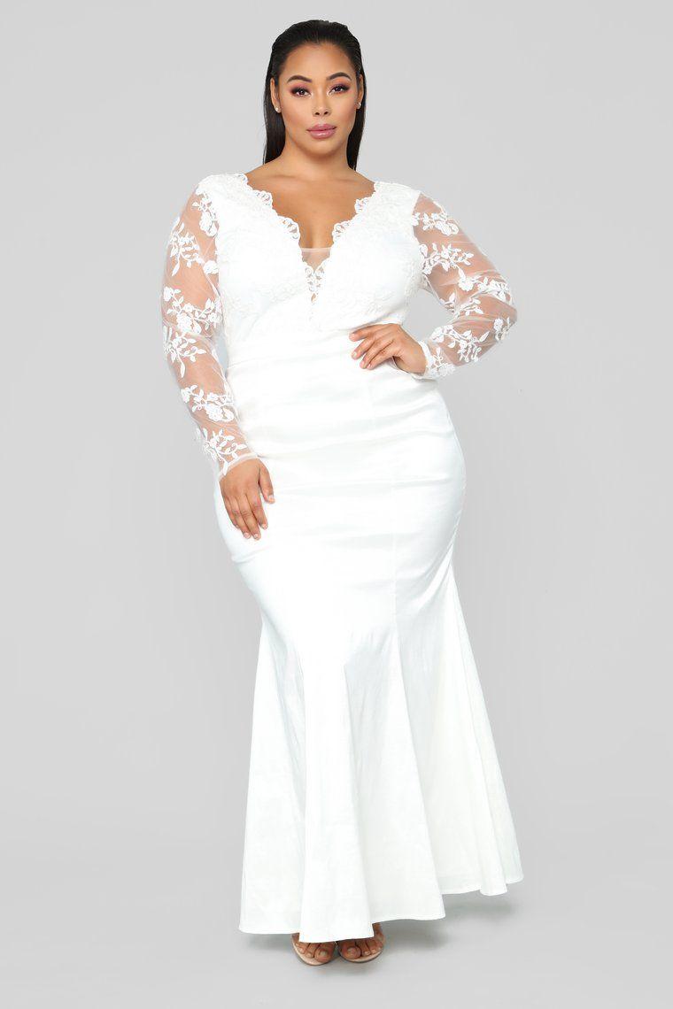 Haul all white plus size attire new orleans kasper