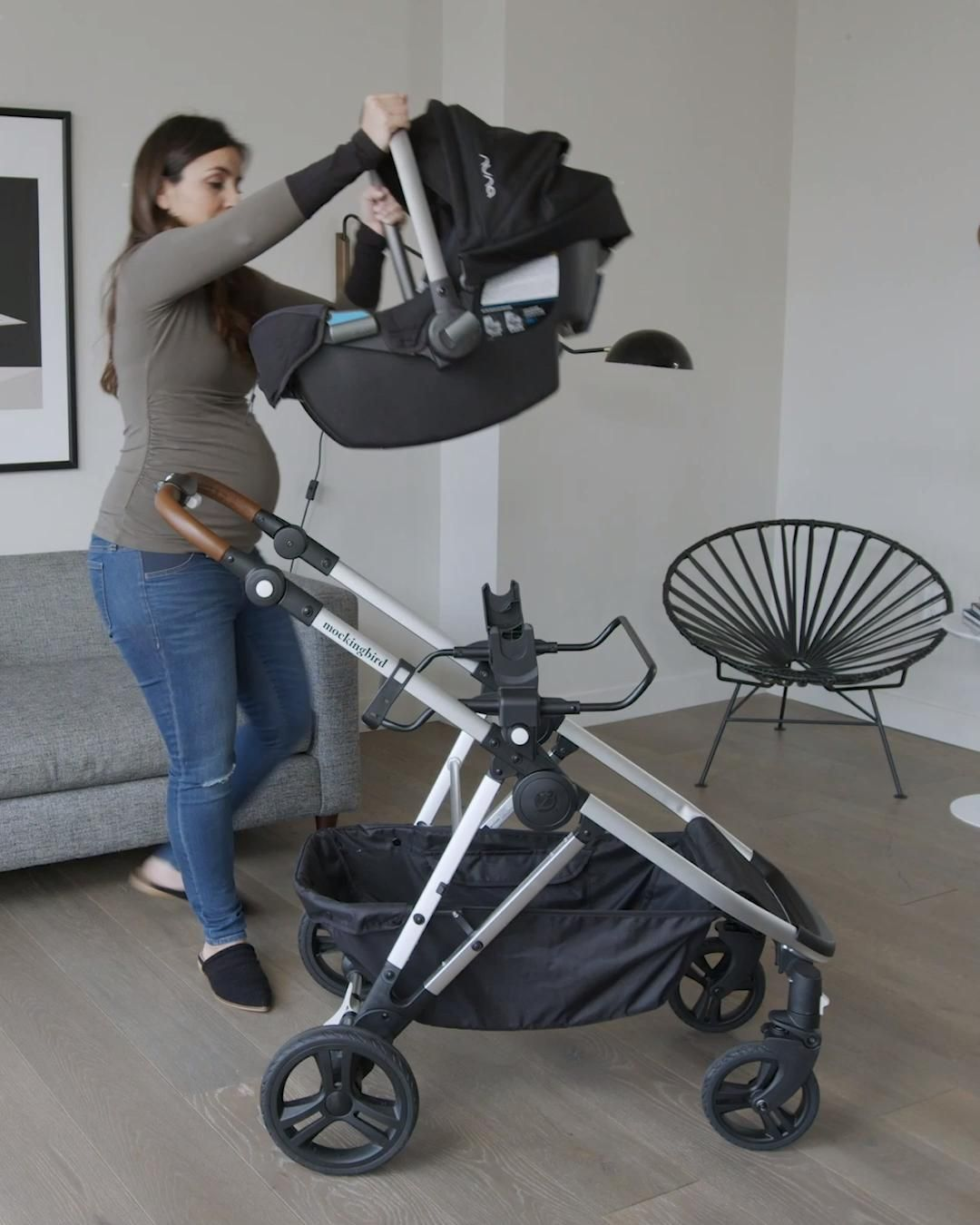 Easy Infant Compatibility With Mockingbird's Car S