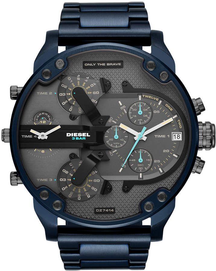 921f85ae82cf Diesel Mr. Daddy Watch - Men s Watches in Gunmetal