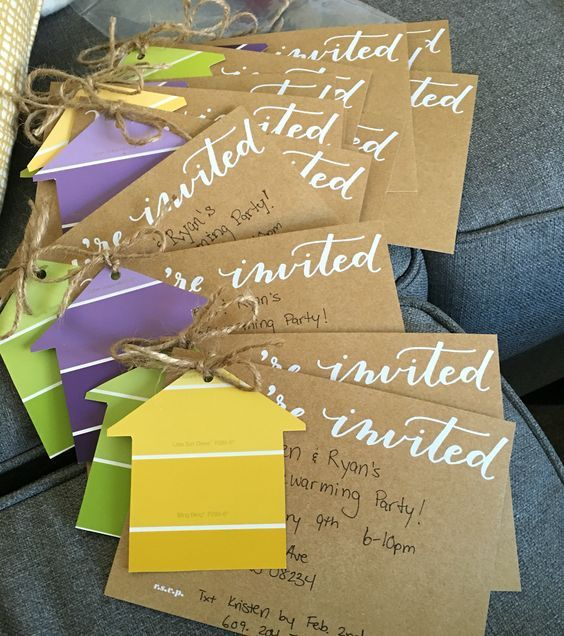 7 invitations that are easy and fun to make DIY Projects