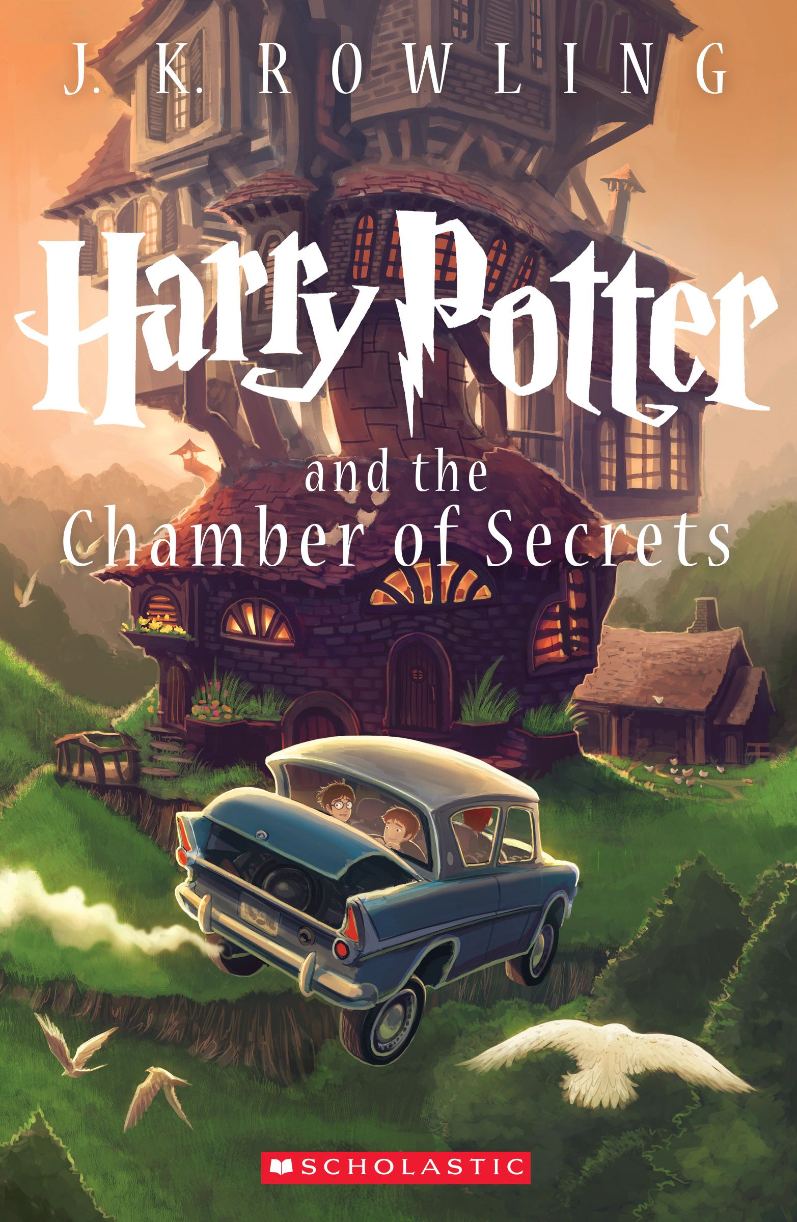 New 'Harry Potter and the Chamber of Secrets' book cover unveiled ...