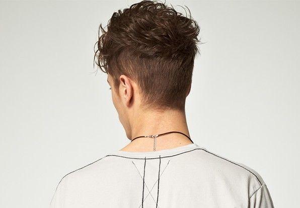 Ruckansicht Eines Undercuts Kurzhaarfrisuren Frisuren Haarschnitte Haar Styling