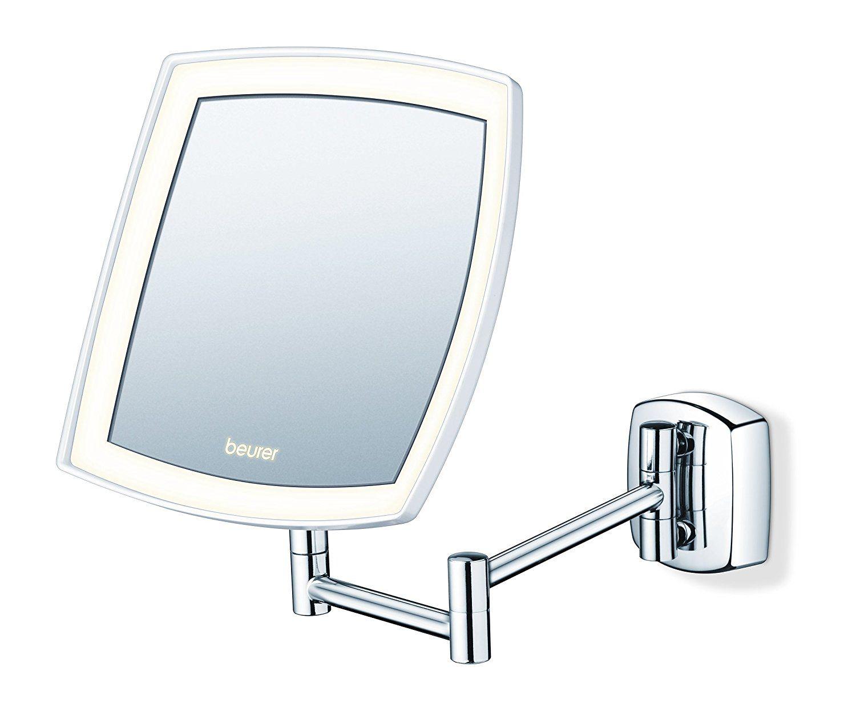 Amazon Miroir Grossissant miroir mural pour maquillage miroir grossissant éclairage led beurer