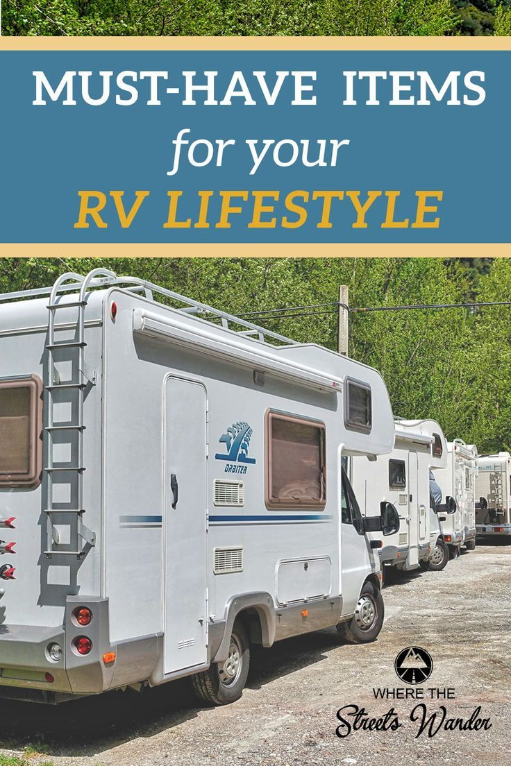 Photo of RV Living Must-Haves