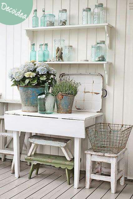 Inspiración vintage y romántica para la # decoración de las ...