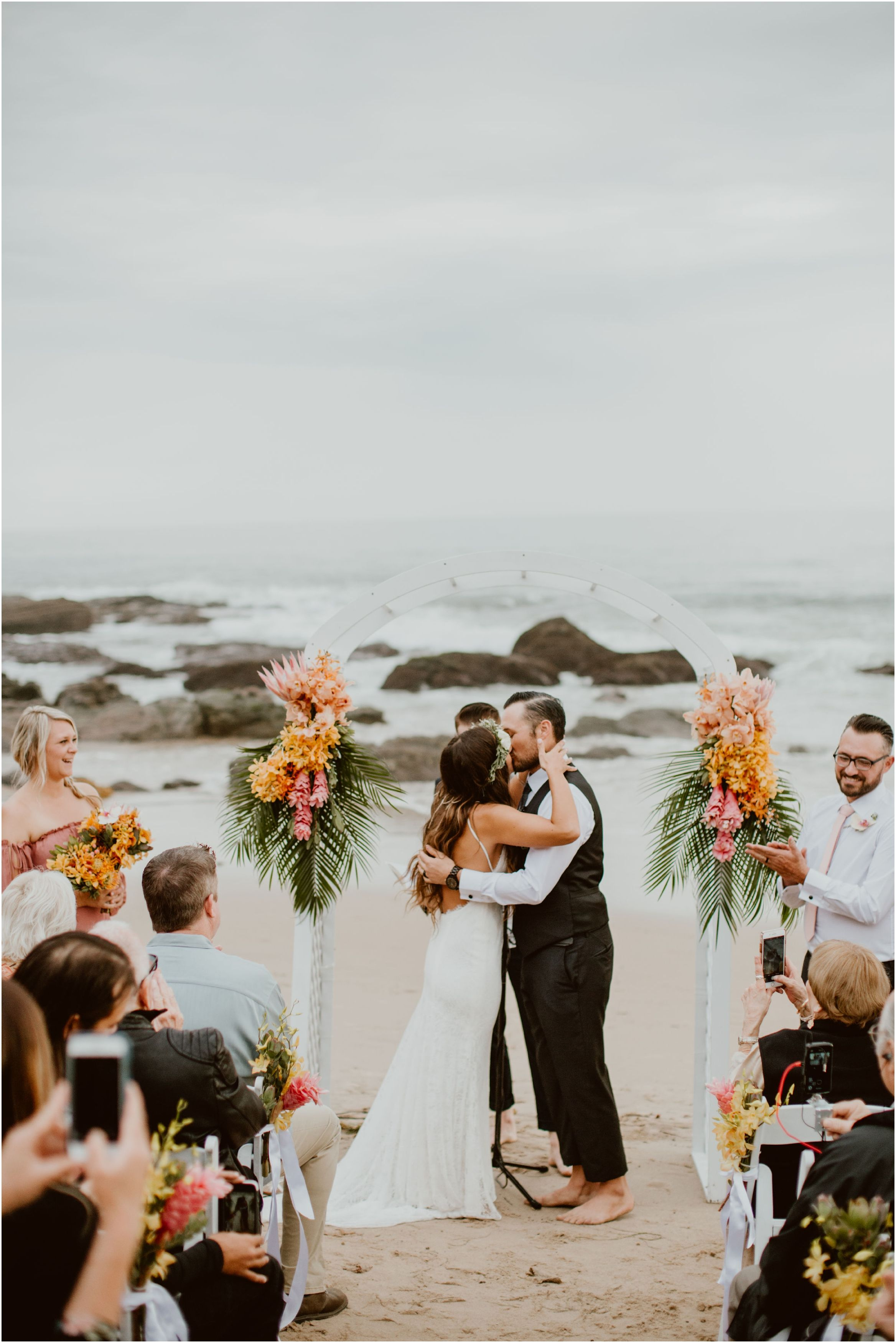 Crystal Cove State Park Beach Wedding