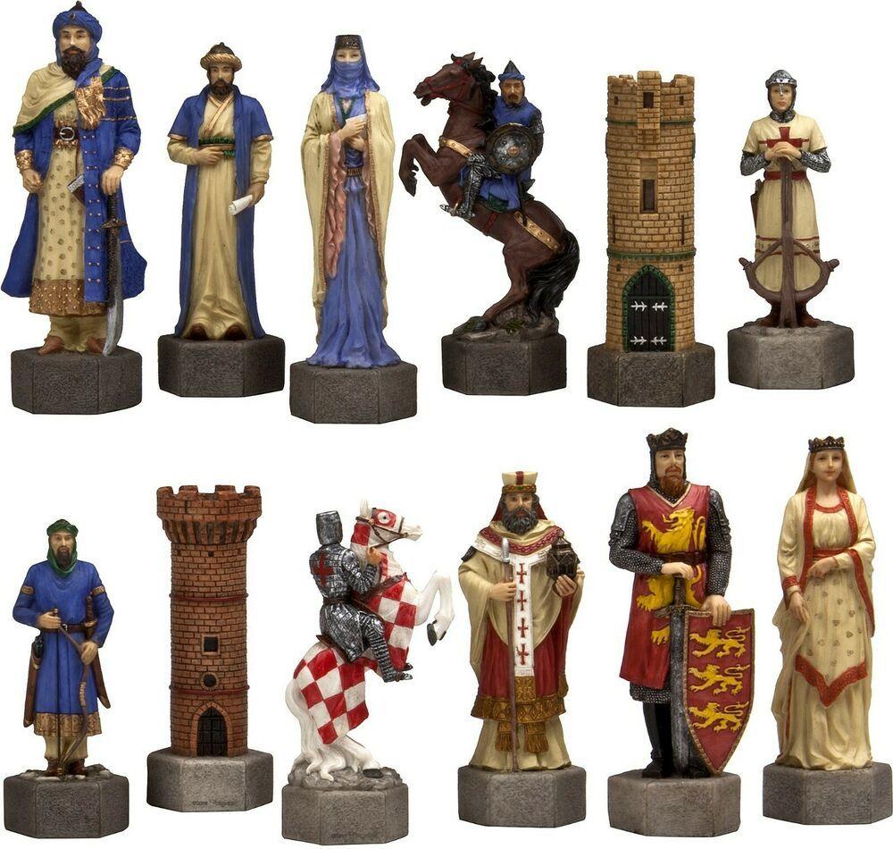 Crusader Chessmen