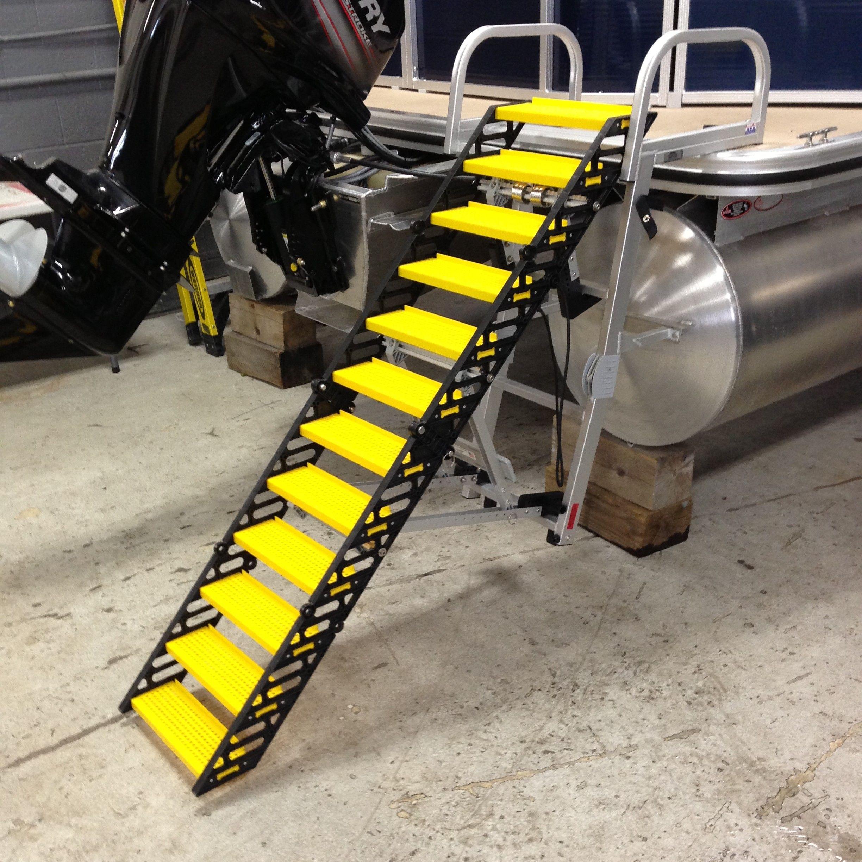 WAG Boarding Steps™ Model SLM-12 Swim Ladder Mount on