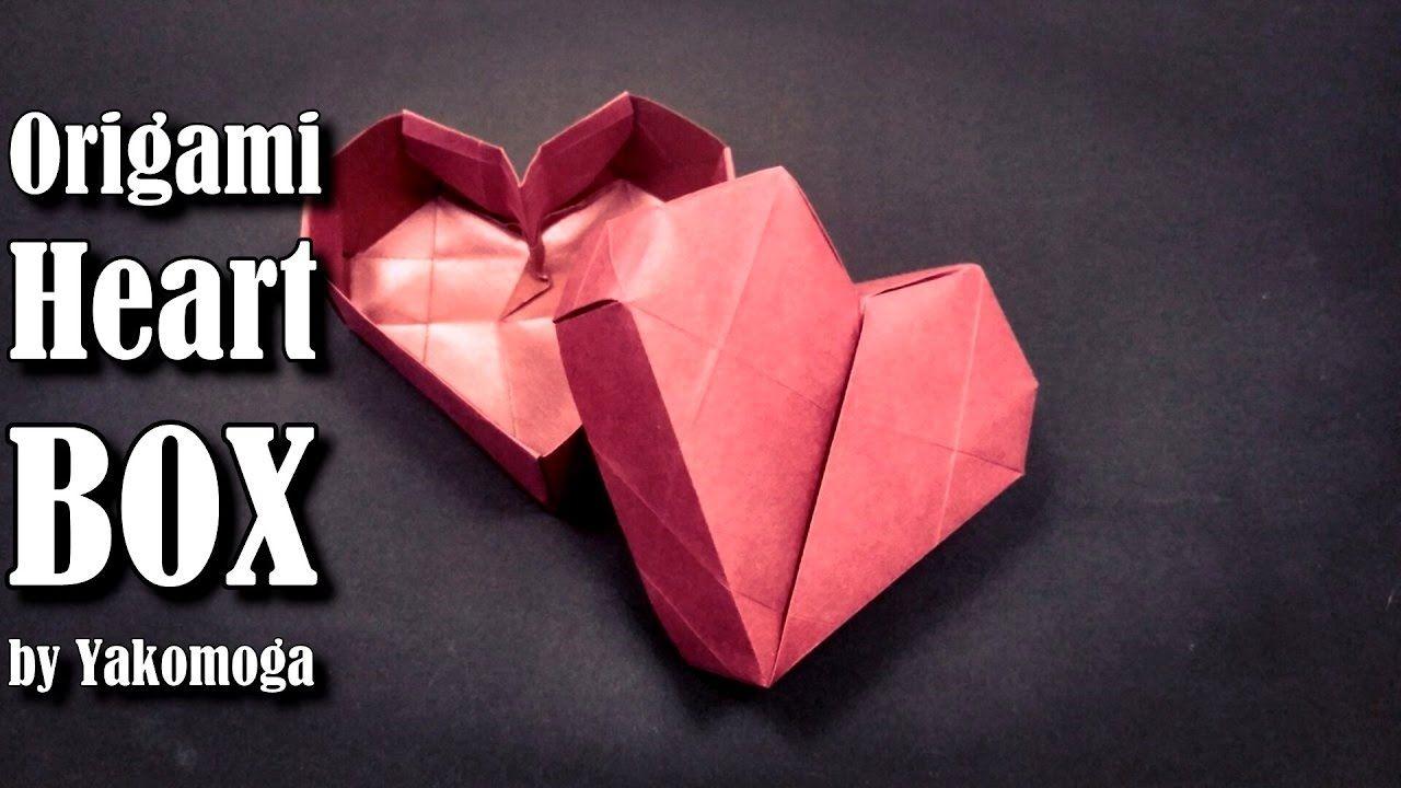 Origami Heart Box By Yakomoga