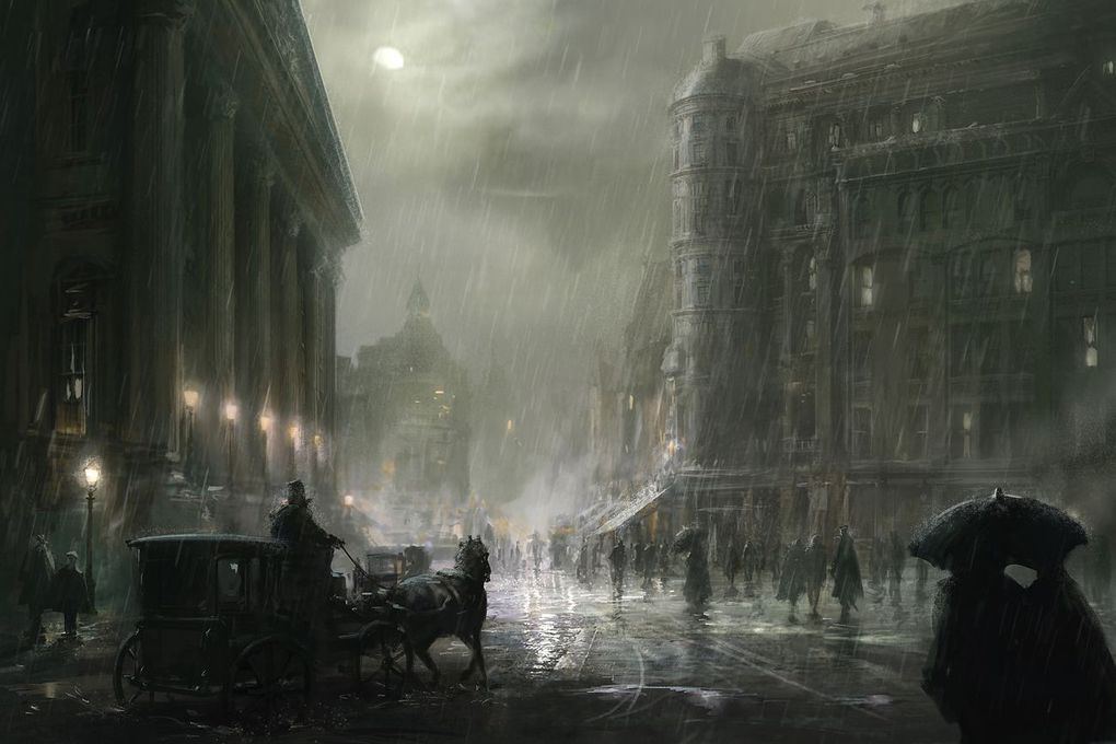 The Concept Art Behind Assassins Creed Syndicates Beautiful Victorian London