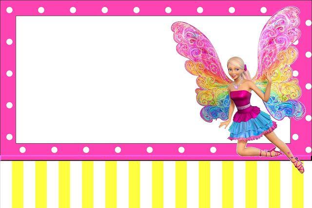 Imprimibles Barbie Fairytopia. | Ideas y material gratis para fiestas y celebraciones Oh My Fiesta!