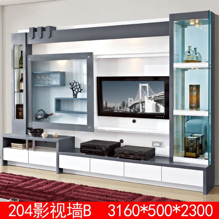 Source Living Room Furniture Wood Lcd Tv Wall Unit Design On M Alibaba