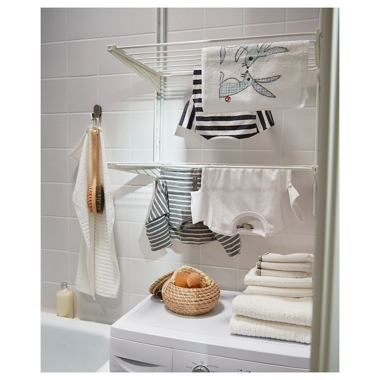 Algot Cremaillere Sechoir Blanc Ikea Ikea Algot Sechoir Linge Solutions De Rangement